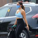 Addison Rae – Seen after a gym session in West Hollywood