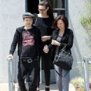 Deryck Whibley and Jocelyn Aguilar