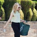 Rachel McAdams: leaving a friend's house in Los Angheles