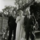 John Barrymore with sister Ethel and brother Lionel