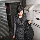 Lily Allen - Leaving The Quo Vadis Restaurant In Soho, London, 2009-09-23