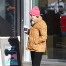 Gillian Jacobs – Out for Coffee in New York - 454 x 680