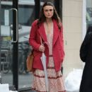 Keira Knightley film scenes for the upcoming movie 'Collateral Beauty' in New York City, New York on April 1, 2016 - 437 x 600