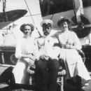 Nicholas with his eldest daughters Olga and Tatiana on board the Standart in 1911 - 454 x 446