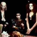 Tim Curry, Richard O'Brien and Patricia Quinn in The Rockt Horror Picture (1975)