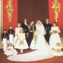 Lady Diana Spencer and Prince Charles wedding - 29 July 1981 - 454 x 345
