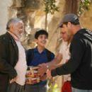 Nadim Sawalha and Udey Al-Qiddissi on the set of NeoClassics Films' Captain Abu Raed. - 454 x 302