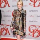 Dakota Fanning attended the 2012 CFDA Fashion Awards, June 4, in New York City at Alice Tully Hall