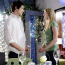 Matt Dallas and Kirsten Prout