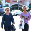 Aly and AJ Michalka: Barnes & Noble bookstore