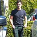 Taylor Lautner and his girlfriend  were seen leaving Fred Segal in West Hollywood, California on March 23, 2017 - 394 x 600