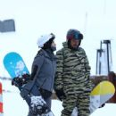 Katy Perry and Orlando Bloom – Hitting the slopes of Aspen