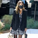 Jessica Alba – Was spotted arriving at her office in Los Angeles