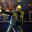 Rob Halford performs at the Gibson Amphitheatre on August 2, 2009 in Universal City, CA