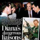 Princess Diana and James Hewitt with Prince Charles - 1987