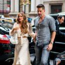 Sofia Vergara and Joe Manganiello – Outside Avra Restaurant in New York