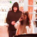 Camila Morrone and Leonardo DiCaprio –Out for a dinner at Taverna Tony in Malibu
