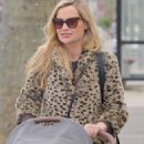 Laura Whitmore – With Iain Sterling out with their newborn baby in outin London - 454 x 851
