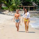 Nicky Whelan and Kate Neilson – In a bikinis on vacation in Mexico