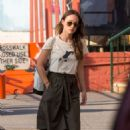Olivia Wilde Out and About In New York City