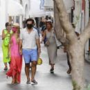 Sylvie Meis – Wearing bikini during honeymoon in Capri