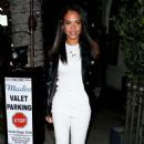 Christina Milian at Madeo Restaurant in Beverly Hills - 454 x 709
