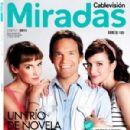 Juan Gil Navarro, Brenda Gandini, Jazmín Stuart - Miradas Magazine Cover [Argentina] (January 2013)
