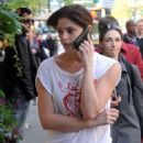 Ashley Greene Grabs A Japadog In Vancouver - 05/12/09