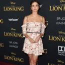 Maia Mitchell – 'The Lion King' Premiere in Hollywood - 454 x 690