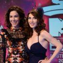Carice Van Houten and Halina Reijn At The MTV Europe Music Awards 2013