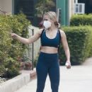 Kristen Bell – Seen after workout in Los Feliz