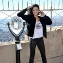 Adriana Lima at Empire State Building in New York