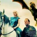 Emilia Clarke, Iain Glen - Game Of Thrones  - Vanity Fair Magazine Pictorial [United States] (April 2014)