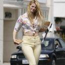 Mischa Barton - In Yellow Pants 3-04-2010
