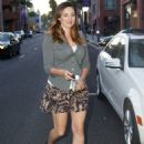 Kelly Brook Shopping Candids In Beverly Hills