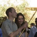 The Duchess of Cambridge visiting the National Indigenous Training Academy and the Uluru Cultural Centre (April 22, 2014)