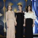 Emma Stone, Olivia Colman and Rachel Weisz At The 76th Annual Golden Globes (2019) - 400 x 600