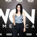 Actress Jessica de Gouw attends the WGN America Winter TCA at Langham Hotel on January 13, 2017 in Pasadena, California - 400 x 600