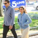 Marisa Tomei – Seen at Jane Fonda's Fire Drill Fridays in Los Angeles