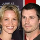 Ashley Scott and Steve Hart