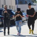 Blac Chyna and Amber Rose Shopping in Beverly Hills - November 7, 2014