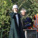 Michelle Dockery – Filming the 'Downton Abbey' in Bath - 454 x 744