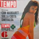 Ann-Margret - Tempo Magazine Cover [Italy] (29 August 1967)