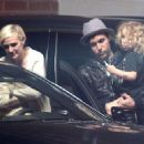 Ashlee Simpson, Pete Wentz And Son Bronx Arrive For Jessica Simpson's Baby Shower