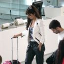 Cheryl Cole: out of Nice Airport
