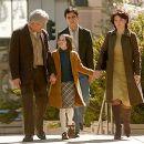 Richard Gere (Saul Naumann), Flora Cross (Eliza Naumann), Max Minghella (Aaron Naumann), and Juliette Binoche