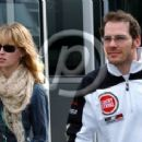 Jacques Villeneuve and Ellie Green
