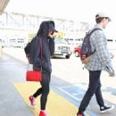 Maisie Williams at LAX Airport in LA July 12, 2017 - 454 x 516