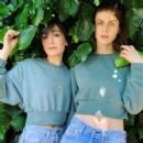 Alexandra Daddario and Kate Easton – Matching Outfits
