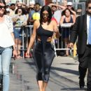 Kim Kardashian – Arrives at Jimmy Kimmel Live in Hollywood